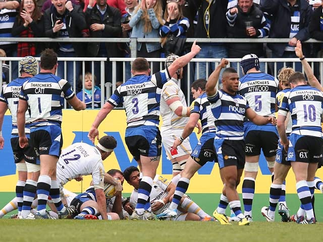 Result: Bath too strong for Worcester