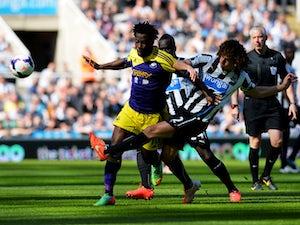 Half-Time Report: Bony puts Swansea level