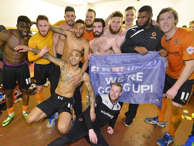 Result: Wolves seal League One promotion