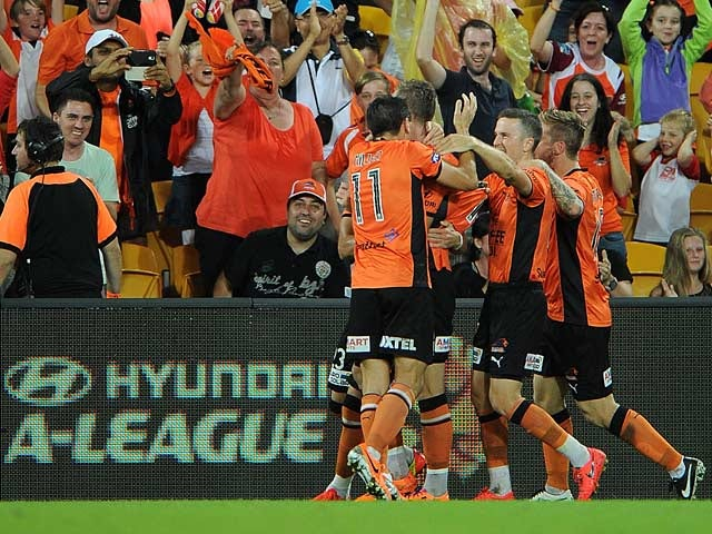 Result: Berisha fires Brisbane into A-League final