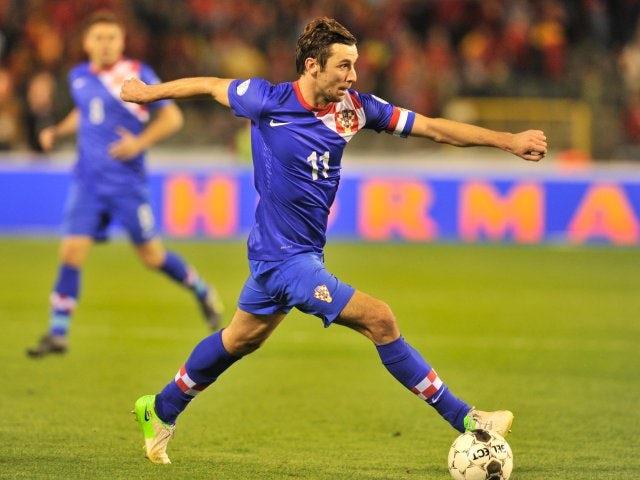 Full-back Darijo Srna in action for Croatia on September 11, 2012.