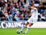 Ferrie Bodde of Swansea scores their first goal during the Championship match on November 9, 2008