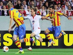 Half-Time Report: Valencia restore Europa League parity