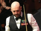 Jamie Burnett looks on after losing to Joe Perry during The Dafabet World Snooker Championship on April 21, 2014