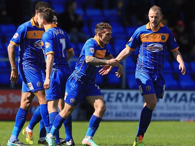 Result: Posh secure playoff berth to relegate Salop