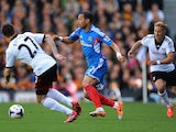 Hull's Liam Rosenior in action against Fulham during the Premier League match on April 26, 2014