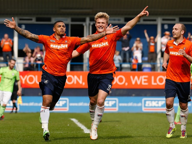 Still elated with Luton victory