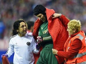 Cech declares himself fit for Atletico clash