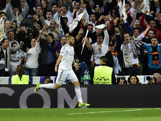 Result: Benzema strike gives Real advantage