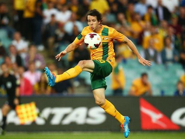 Robbie Kruse in action for Australia on November 19, 2013.