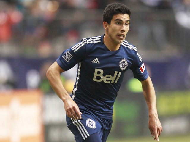 Sebastian Fernandez #7 of the Vancouver Whitecaps FC during their MLS game against the Colorado Rapids April 5, 2014