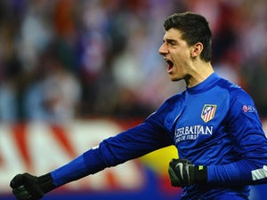 Courtois hints at Chelsea future