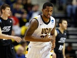 Troy Daniels #30 of the Virginia Commonwealth Rams in action against Akron Zips on March 21, 2013