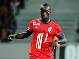 Lille's Senegalese midfielder Idrissa Gueye controls the ball during the French L1 football match Lille vs St Etienne on August 25, 2013