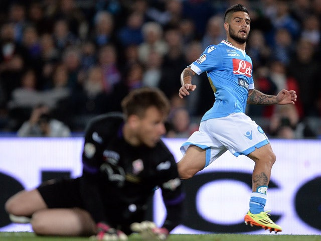 Result: Insigne double secures Napoli silverware