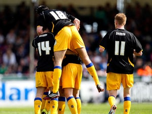 League Two roundup: Rovers relegated after Mansfield loss