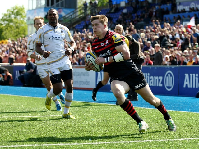 Result: Strettle leads Saracens to win