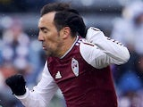 Vicente Sanchez #7 of Colorado Rapids in action on March 22, 2014