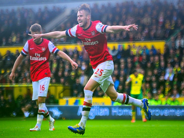 Result: Norwich relegated by Gunners defeat