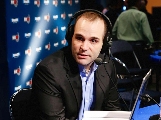 David Caldwell attends SiriusXM's Live Broadcast from Radio Row during Bowl XLVII week on February 1, 2013