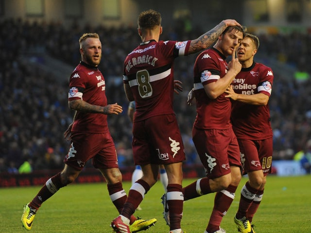 Result: Martin at the double for Derby