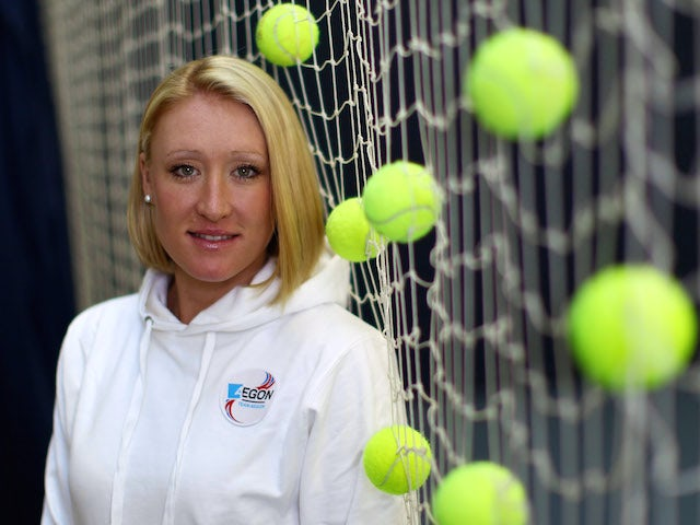 Elena Baltacha of Great Britain poses for the camera at the National Tennis Centre on November 29, 2010 in Roehampton