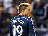 Erik Hurtado #19 of the Vancouver Whitecaps FC during their MLS game against the Colorado Rapids April 5, 2014