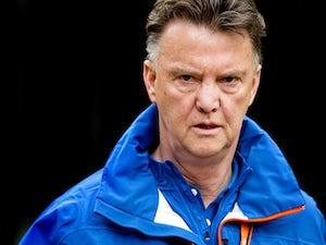 Van Gaal names 23-man Netherlands squad