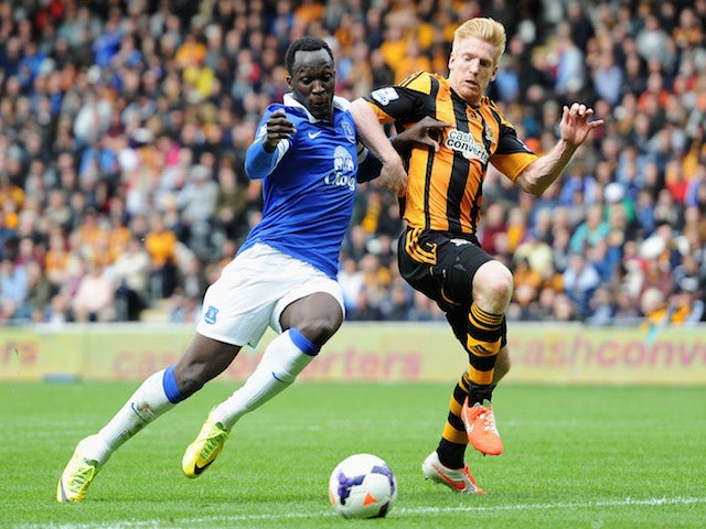 Result: Everton secure fifth place with Hull win