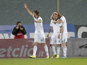 Sassuolo hit four past Cittadella