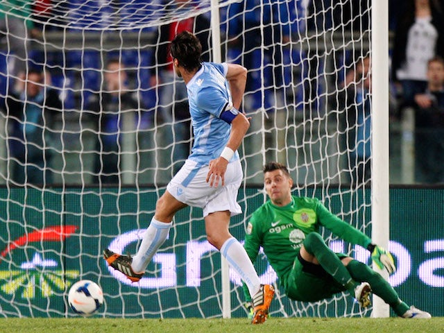 Result: Ten-man Lazio strike late to draw