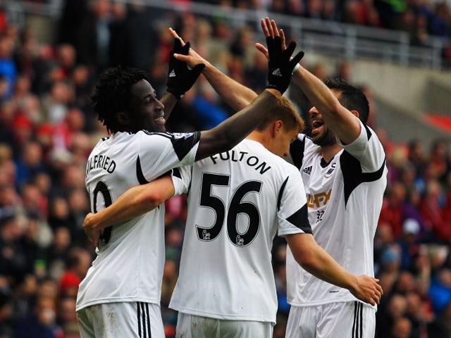 Result: Swansea cruise to Sunderland win