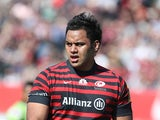 Billy Vunipola of Saracens in action during the Aviva Premiership match between Saracens and Northampton Saints at Allianz Park on April 13, 2014