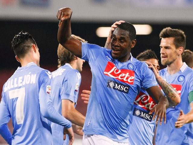 Result: Napoli put five past Verona on final day