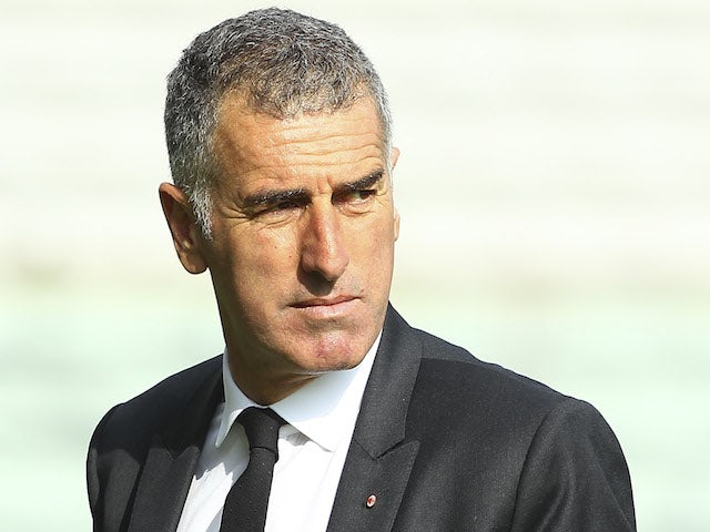 AC Milan second coach Mauro Tassotti looks on before the Serie A match between Parma FC and AC Milan at Stadio Ennio Tardini on October 27, 2013