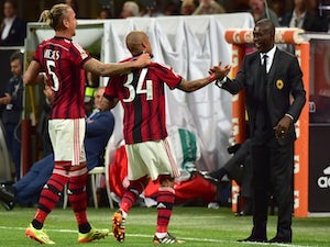 Team News: Four changes for AC Milan