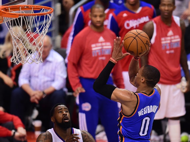 Result: Late Thunder run knocks out Clippers