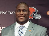Ray Farmer at a press conference at the Browns training facility on May 9, 2014