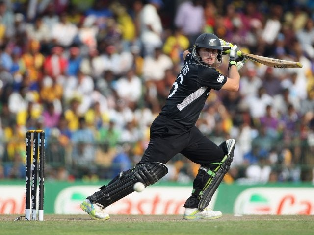 New Zealand's Scott Styris in action against Sri Lanka on March 29, 2011.