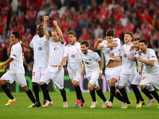Result: Sevilla win Europa League on penalties