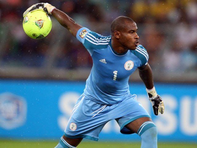 Lille goalkeeper Vincent Enyeama in action for Nigeria on February 6, 2013.