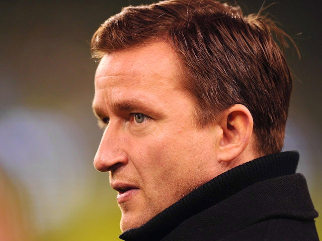 Czech Republic team manager Vladimir Smicer during the International Friendly match between Republic of Ireland and Czech Republic at Aviva Stadium on February 29, 2012