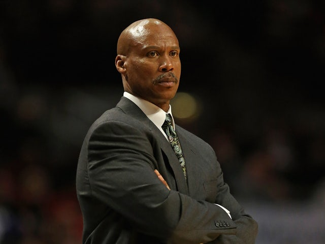 Head coach Byron Scott of the Cleveland Cavaliers watches as his team takes on the Chicago Bulls at the United Center on January 7, 2013