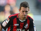 Stephen Purches of AFC Bournemouth in action during the npower League One match between MK Dons and AFC Bournemouth at stadiummk on October 15, 2011