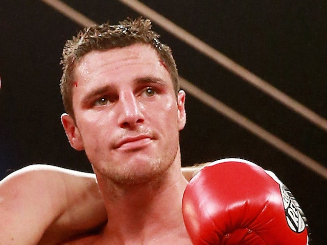 Tommy Coyle after defeat on July 13, 2013