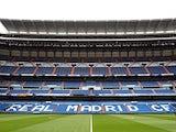 A general view during the La Liga match between Real Madrid and Real Zaragoza at Estadio Santiago Bernabeu on April 30, 2011