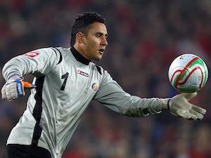 Navas misses training ahead of quarter-final