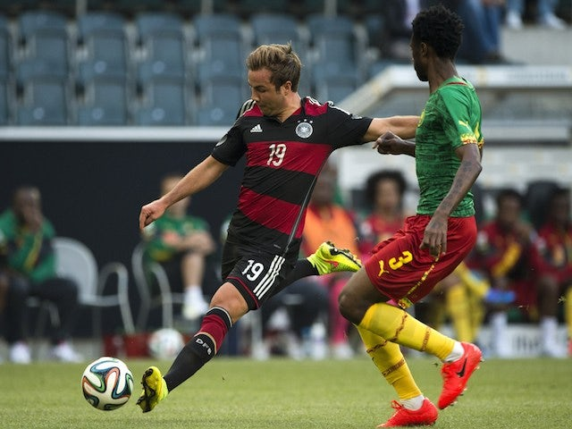 Result: Germany held to draw by Cameroon