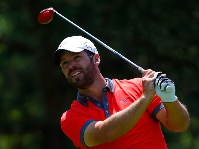Paul Casey of England watches his tee shot on the second hole during the third round of the Memorial Tournament presented by Nationwide Insurance at Muirfield Village Golf Club on May 31, 2014