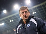 Bosnia head coach Safet Susic stands on the touchline on February 06, 2013.